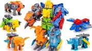 奧特曼字母機器人變形玩具
