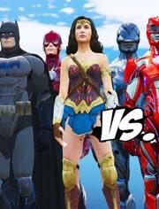 DC英雄大战漫威英雄