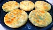 韭菜盒子用半烫面,又软又香,少油少盐,皮薄大馅,健康吃不腻
