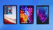 2020 iPad Pro、Surface Pro X、Surface Pro 7平板电脑对比