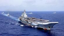 记住这一刻!辽宁舰终于出击了,太平洋唯一实战部署的航母